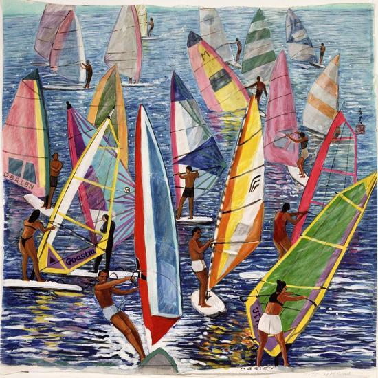 Smooth Sailing, 1992-Komi Chen-Giclee Print