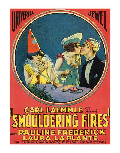 Smouldering Fires - 1925--Giclee Print