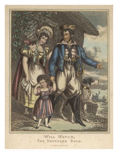 Smuggler--Giclee Print
