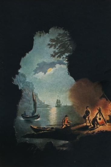 Smugglers, c1785-Catherine Brass Yates-Giclee Print