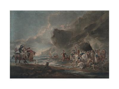 Smugglers Defeated, 1795-1798-Sir Peter Francis Bourgeois-Giclee Print
