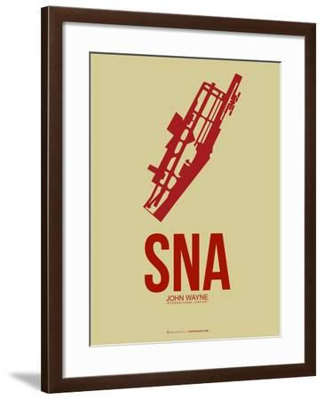 SNA John Wayne Poster 2-NaxArt-Framed Art Print