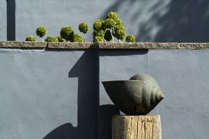 Snail Sculpture, Tony Ridler's Garden, Swansea, S.Wales, UK