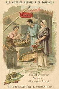 Snail Seller in Pompeii
