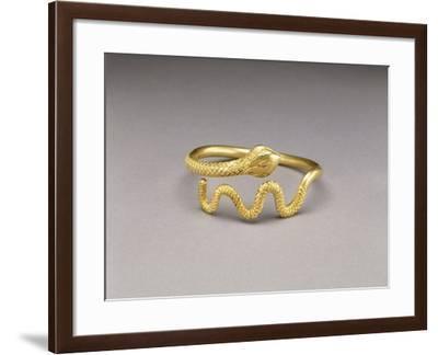Snake Bracelet, Greek, Made in Egypt--Framed Photographic Print