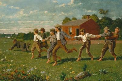 Snap the Whip, 1872-Winslow Homer-Giclee Print