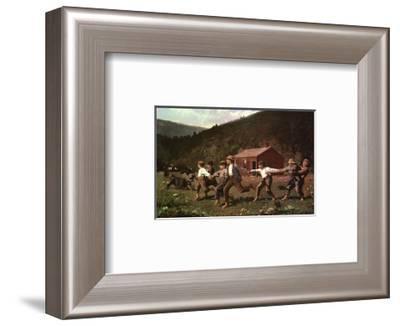 Snap the Whip-Winslow Homer-Framed Art Print