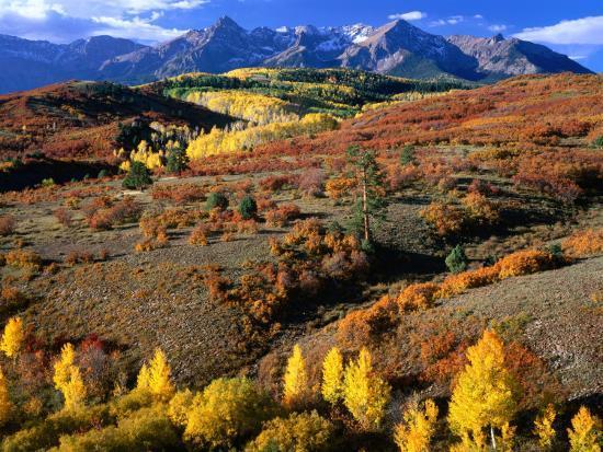 Sneffels Ridge, Colorado, USA-Rob Blakers-Photographic Print