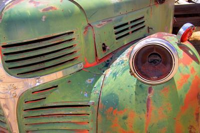 Close up Shot of Old Rustic Truck