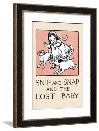 Snip And Snap And the Lost Baby-Julia Dyar Hardy-Framed Art Print