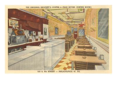 Snockey's Oyster Bar, Philadelphia, Pennsylvania--Art Print
