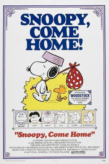 Snoopy, Come Home!--Art Print