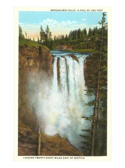 Snoqualmie Falls, Washington--Art Print
