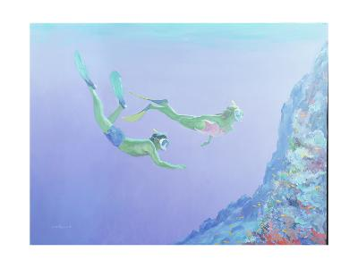 Snorklers-William Ireland-Giclee Print