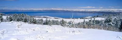 Snow above Bear Lake in the Wasatch-Cache National Forest, Utah, USA-Scott T^ Smith-Photographic Print