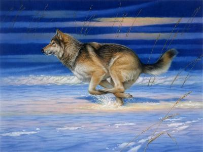 Snow Beat-Joh Naito-Giclee Print