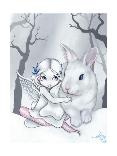 Snow Bunny-Jasmine Becket-Griffith-Art Print