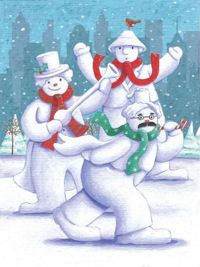 Snow Business Marx Brothers-Peter Adderley-Art Print