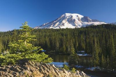 Snow-Capped Mountain; Washington,USA-Design Pics Inc-Photographic Print
