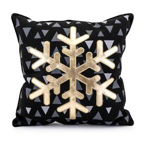 Snow Crystal Pillow