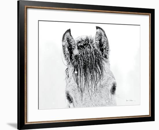 Snow Daze II Crop-Lisa Cueman-Framed Premium Photographic Print