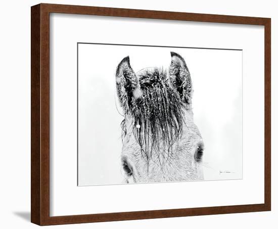 Snow Daze II Crop-Lisa Cueman-Framed Photographic Print