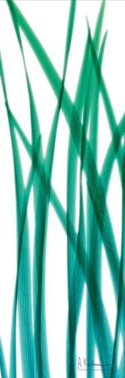 Snow Drop Flowing Blue Green-Albert Koetsier-Art Print