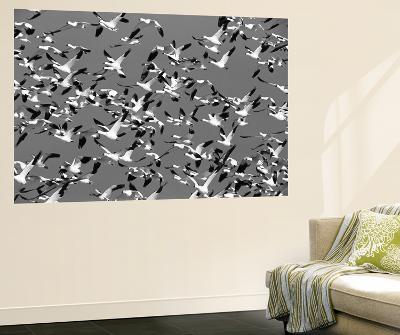 Snow Geese Bird, Bosque Del Apache National Wildlife Refuge, New Mexico, USA-Hugh Rose-Giant Art Print