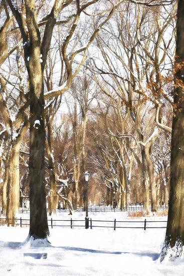 Snow in Central Park-Philippe Hugonnard-Giclee Print