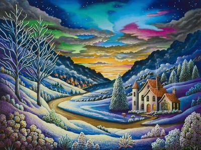 Snow Landscape-Andy Russell-Art Print