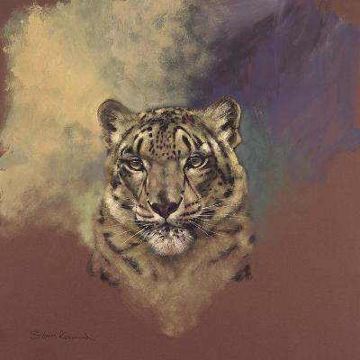 Snow Leopard-Stan Kaminski-Giclee Print