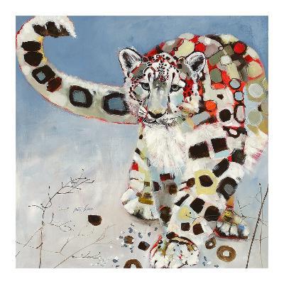 Snow Leopard-Britt Freda-Art Print