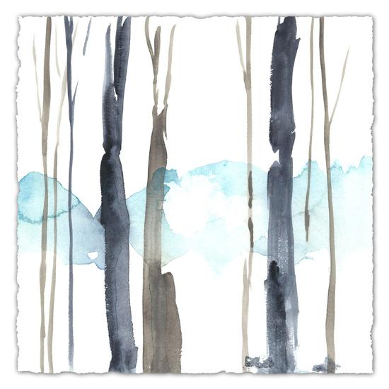 Snow Line IV-Jennifer Goldberger-Premium Giclee Print