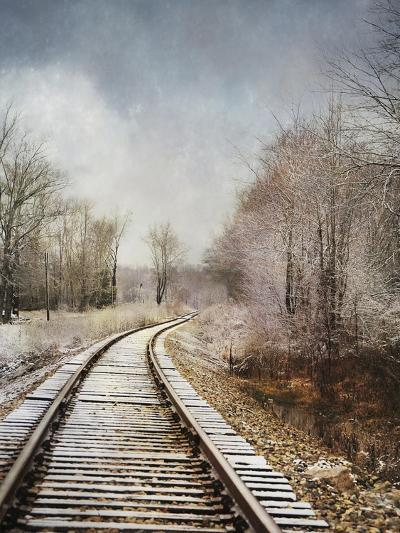 Snow on the Tracks-Jai Johnson-Giclee Print