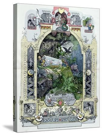 Snow White in Her Glass Coffer, c.1880