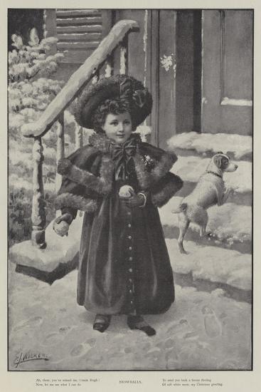 Snowballs--Giclee Print