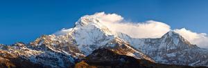Snowcapped Mountains, Hiunchuli, Annapurna Range, Himalayas, Nepal