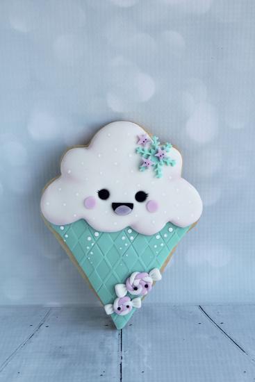 Snowcone Cookie--Photographic Print