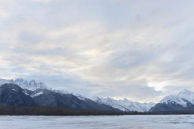 Snowcovered Mountains in Alaska.-SURZ-Photographic Print