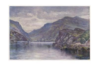 Snowdon Llanberis Lake-Robert Fowler-Giclee Print
