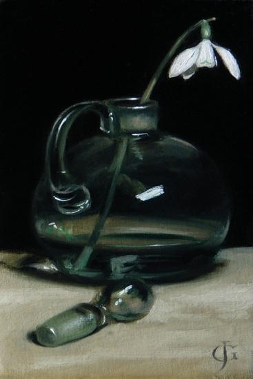 Snowdrop, 2011-James Gillick-Giclee Print