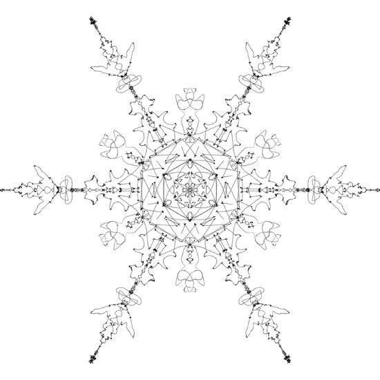 Snowflake 19-RUNA-Giclee Print