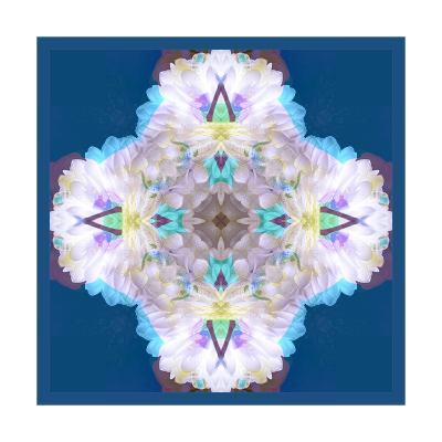 Snowflake Dahlia-Alaya Gadeh-Art Print