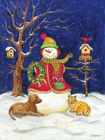 Snowman and Friends-Todd Williams-Art Print