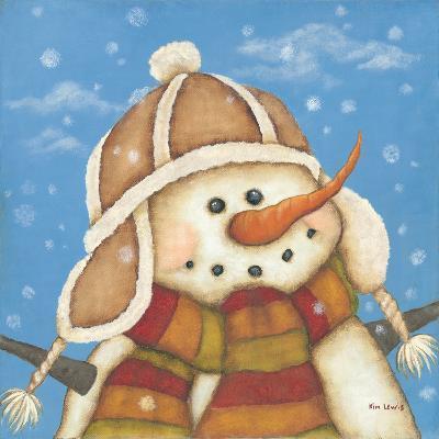 Snowman I-Kim Lewis-Art Print