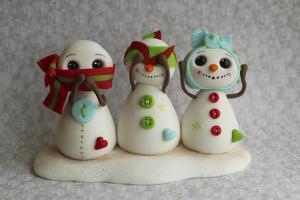 Snowmen Hear See Speak