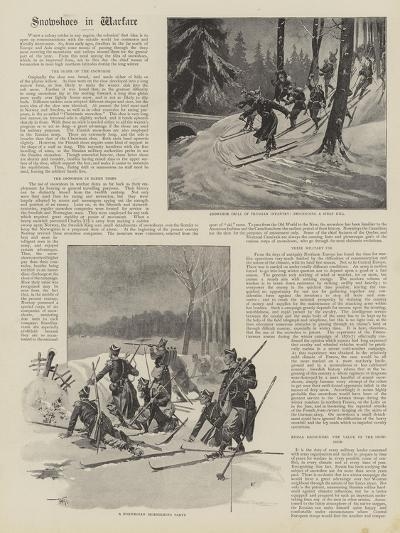 Snowshoes in Warfare--Giclee Print