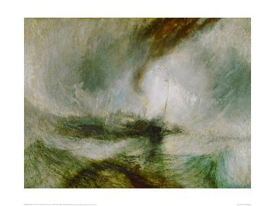 Snowstorm at Sea, 1842-J^ M^ W^ Turner-Giclee Print