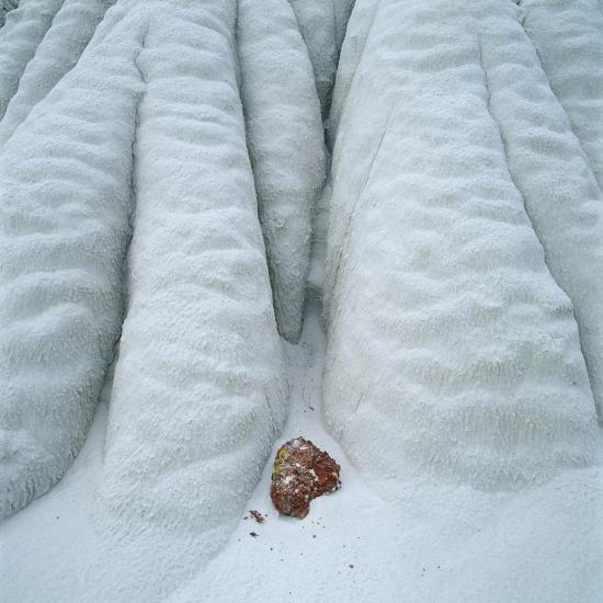 Snowy Cliff-Micha Pawlitzki-Photographic Print