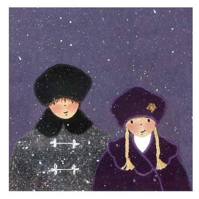 Snowy Day I-Diane Ethier-Art Print